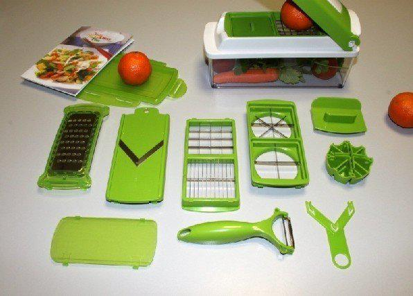 2018 genius nicer dicer plus set multi chopper new kitchen slicer free by fedex from spring. Black Bedroom Furniture Sets. Home Design Ideas