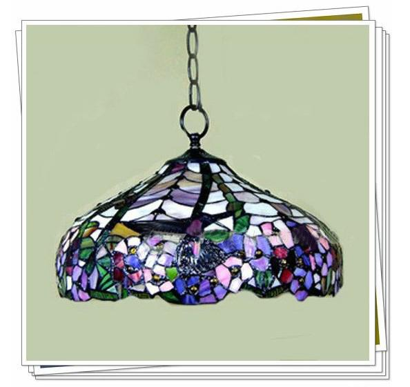 Tiffany Style Elegant Stained Glass Pendant Light  : tiffany style elegant stained glass pendant from www.dhgate.com size 594 x 561 jpeg 48kB