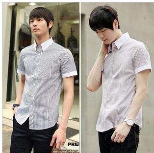 Mens white casual dress shirts