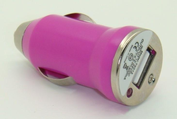 Bullet Mini USB Car Charger Universal for PDA MP3 MP4 Cell Phone Iphone4 iphone5