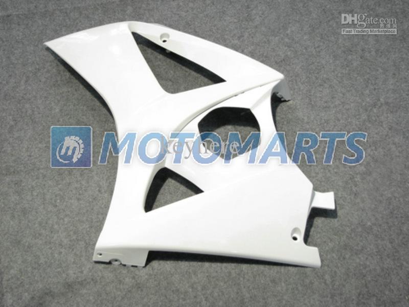 QUENTE! Todos os Brancos Brilhantes kit para Suzuki GSX-R1000 2007 2008 GSXR1000 07 08 GSXR 1000 K7 Carenagem