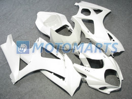 HOT!all Bright White Fairings kit For Suzuki GSX-R1000 2007 2008 GSXR1000 07 08 GSXR 1000 K7 Fairing