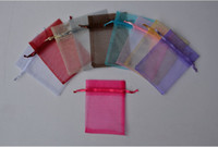 Wholesale Gift Box 18cm - assorted 13*18cm Jewelry Box Luxury Organza Jewelry Pouches Gifts Bags For Ring Wedding Gifts DIY