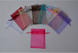 Wholesale Organza Bags 13 - assorted 13*18cm Jewelry Box Luxury Organza Jewelry Pouches Gifts Bags For Ring Wedding Gifts DIY