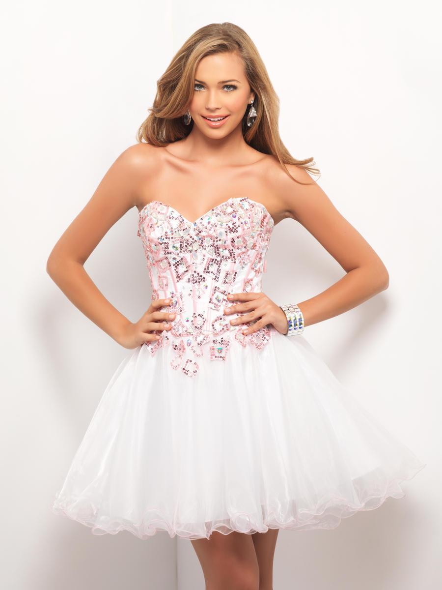 White corset dresses for prom