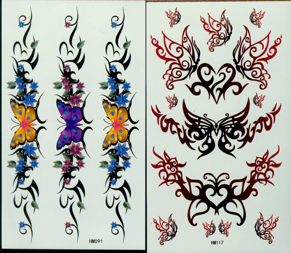Temporary Tattoos Tattoo For Body Art Spiders Tattoo Waterproof Arm Chest Tattoos Stickers