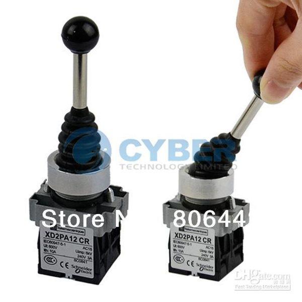 Interruptor de dos posiciones Joy Stick Bamboleo grado industrial reemplaza Telemecanique X2