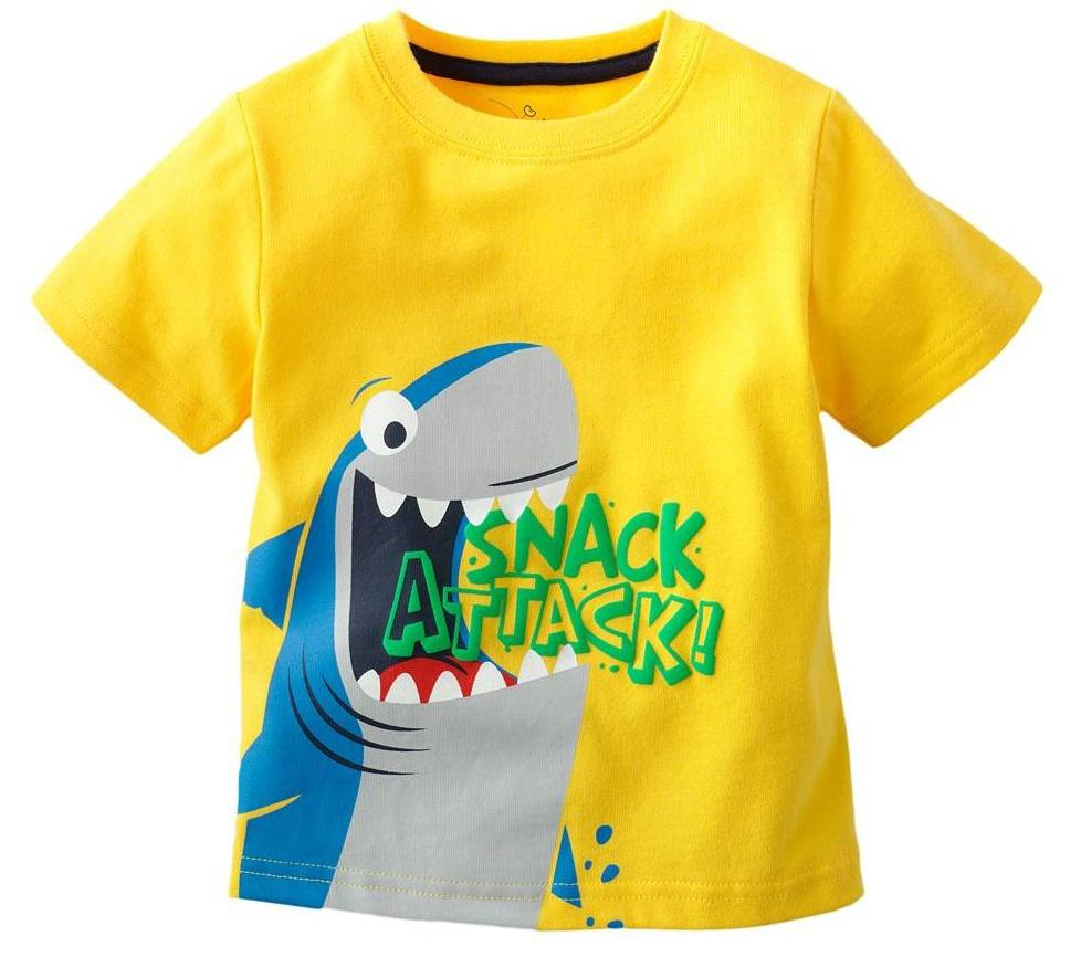 2018 boys shark tshirts jumpers tees shirts baby jersey for Start an online t shirt business at zero cost