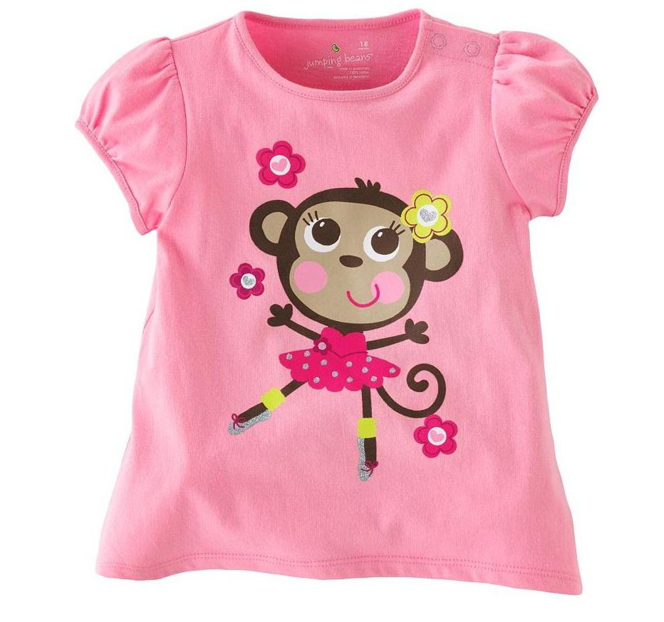 2017 Girls Pink Tshirts Jersey Tees Kids Tank Tops Blouses Jumpers ...