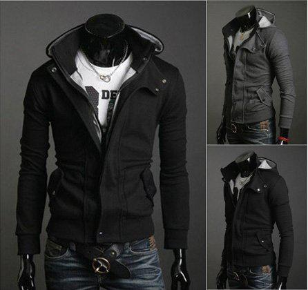 For spring, fall and summer, there are also fashion casual jackets and dress jackets for men. Mens anorak jackets are suitable for gale and and rainy day. In addition, the color is diverse including dark black, brown, tan, olive and maroon, light green, white, blue red. Mens khaki jackets are popular now.