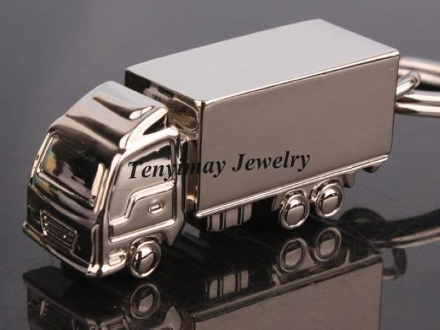 Mode Camion Porte-clés En Alliage Lorry Porte-clés Promotion Hommes Porte-clés / Livraison Gratuite