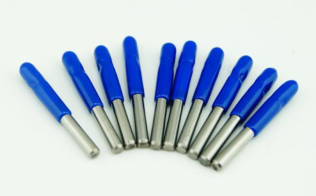 Novo Carboneto PCB CNC Gravura V Bits 60 Deg 0.2mm para Máquinas CNC # SM464 @ CF