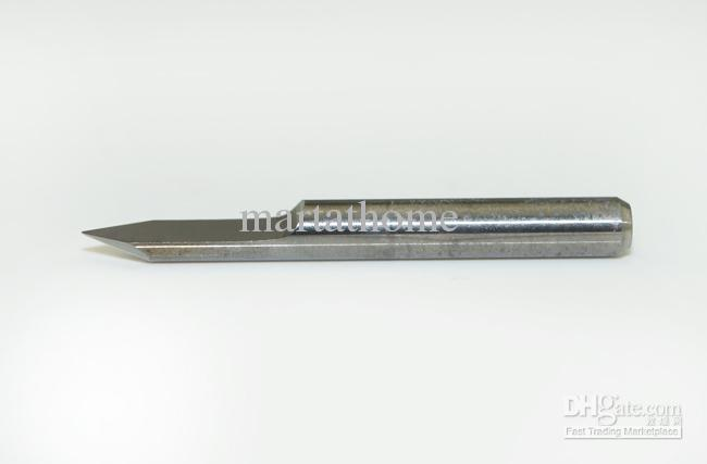 10 Unids / lote Nueva PCB Carburo CNC Grabado V Bits 60 Deg 0.1mm para Maquinaria CNC # SM463 @CF