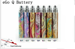 Wholesale Ego Queens - Wholesale - free shipping eGo Queen battery with Beautiful Cloud Style for eGo Electronic Cigarette hot