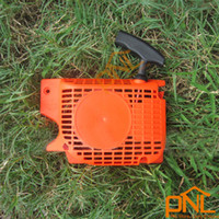 Wholesale Cylinder Part - 1PC Recoil Starter Chainsaw Parts Normall Pull Starter for 45cc 52cc Chainsaw