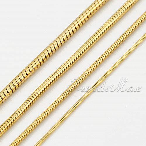 2019 4 Width 19 5 Top Quality Mens Snake Chain Jewelry 18k