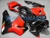 Wholesale Cbr Fairings For Sale - NEW!Hot sale red black Injection kit for HONDA CBR600RR 2003 2004 CBR 600RR 03 04 F5 fairings RX6A