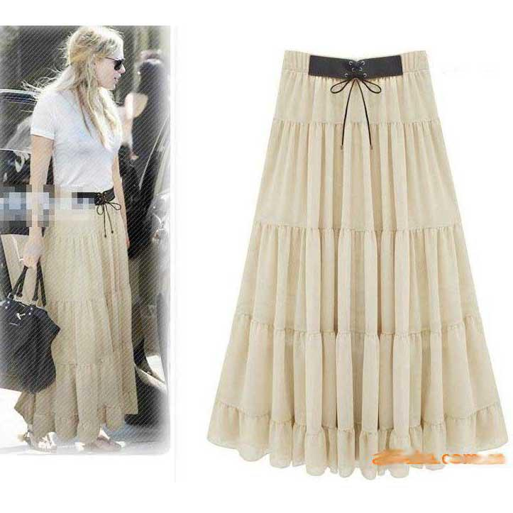 2019 2015 New Bohemian Skirts Fashion Women Dress Elegant