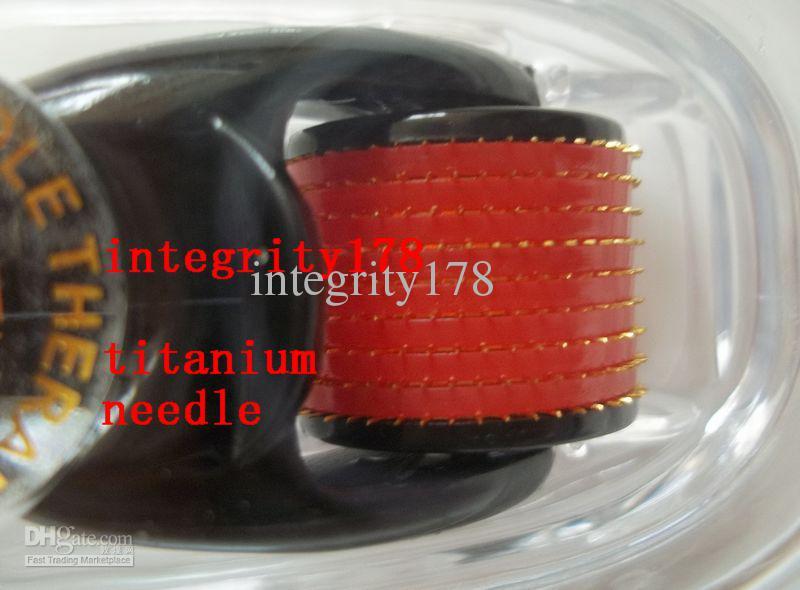 / MT titane 540 Micro Aiguille Peau Rouleau Dermatologie Thérapie, Microneedle peau Dermaroller chinapost gratuitement