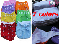 Wholesale Babyland Cotton Diaper Insert - 5 Diapers +5 Inserts Babyland Diapers Baby Cloth Diapers Suppliers Baby Diapering all in one size