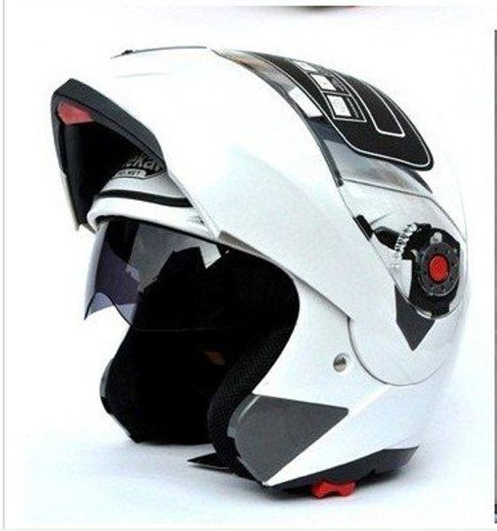 DOT Approved Motorcycle Helmet Racing Full Face Capacete Double Lens Moto Helmet