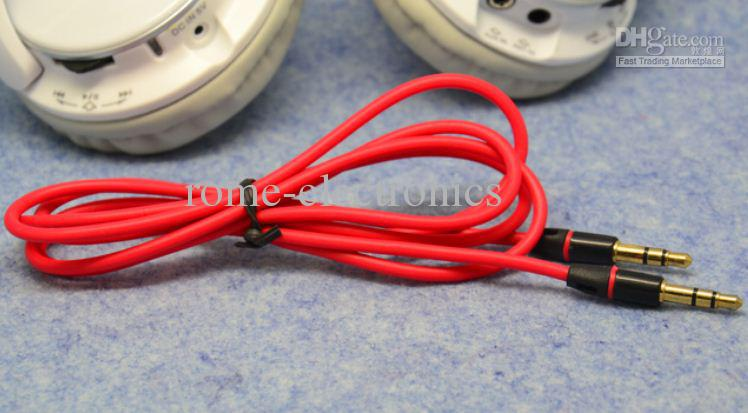 3.5mm AUX Audio Cables Male To Male Stereo Car Extension Audio Cable For MP3 For phone