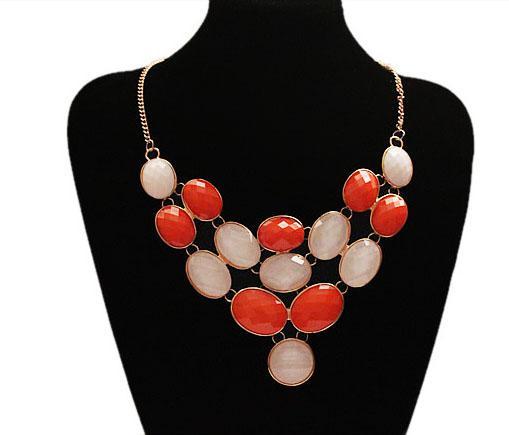 Promotion!NEW Vintage Unique Chunky statement bubble bib Choker Necklace for lady/women 1pcs/lot