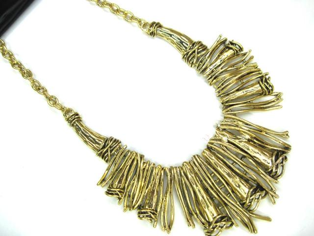 Brand New Vintage Indian branches Gold/silver Plating Chunky choker necklace Christmas Gift