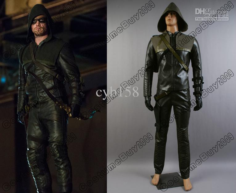 New Green Arrow Oliver Queen Cosplay Costume Custom Made Adult Costume Holloween Costumes From Cyb158 $201.0| Dhgate.Com & New Green Arrow Oliver Queen Cosplay Costume Custom Made Adult ...