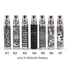 Wholesale Ego Battery Carved - eGo Style Variable design electronic vapor cigarettes batteries ego carved vaping battery new style ego c battery ego w battery ego t