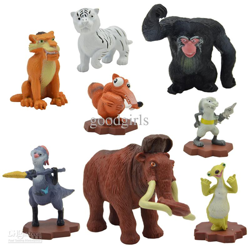 Toys From Ice Age 1 : Ice age toys figures decoration collections squirrel