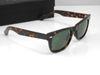 High Quality Plank 2140 Tortoise Frame Sunglasses glass Lens Green Lens Sunglasses beach sunglasses