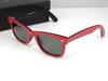 hot High Quality Plank 2140 red black Sunglasses glass Lens Green Lens Sunglasses beach sunglasses