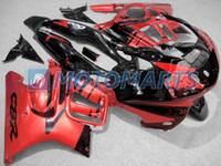 Wholesale honda c resale online - NEW red black C B R ABS custom fairing for Honda CBR600F3 CBR F3 body kit RX3m