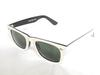 High Quality Plank 2140 black and white Sunglasses glass Lens Green Lens Sunglasses beach sunglasses