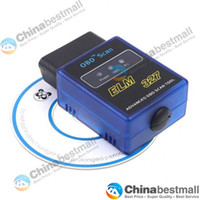 Wholesale Elm 327 Vgate - Mini Bluetooth ELM 327 V1.5 OBDII OBD-II OBD2 Protocols Auto Diagnostic Scanner Tool Vgate Scan