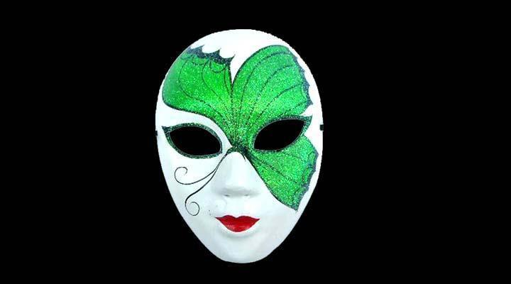 Cardboard Masks To Decorate Extraordinary High Quality Paper Pulp Full Face Handmade Masquerade Mask Design Inspiration