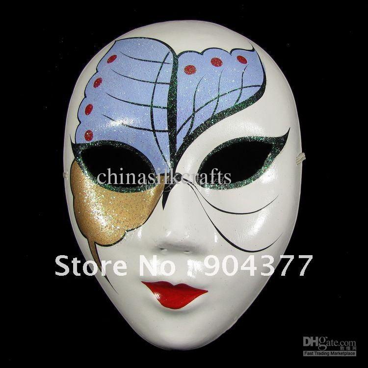 Decorative Masquerade Masks Full Face Masquerade Masks For Women Paper Mache Decorative Party 43