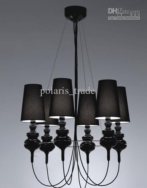 Discount New Modern 6 Lamp Shades Josephine Pendant Lamp Ceiling ...