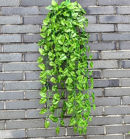 Wall Hanging Basket 2017 wall hanging basket mix simulation vine leaves encryption