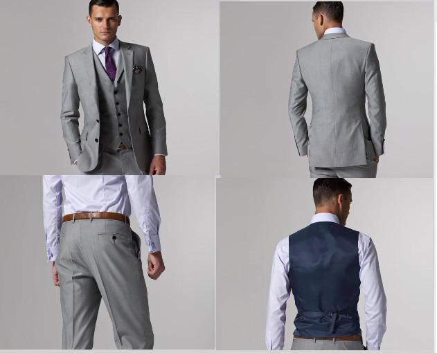 Wholesale Stylish And Cheap Gender Custom Made Slim Fit Groom ...