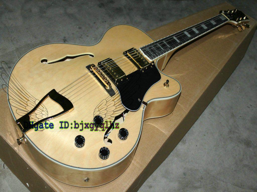 best selling natural l 5 jazz guitar custom electric guitar guitars oem wholesale guitars from. Black Bedroom Furniture Sets. Home Design Ideas