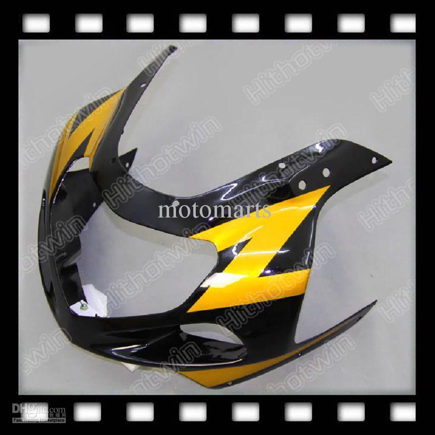 100% NUOVO Oro Nero per SUZUKI GSXR600 GSXR750 GSX R600 R750 GSXR 600 750 K1 01 02 03 Carena ABS