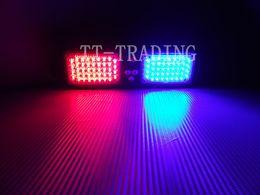 Wholesale Emergency Visor Light 86 Led - Wholesale Super Bright 86 LED Car Truck Visor Strobe Light vehicle emergency lights police light DC12V white red blue amber