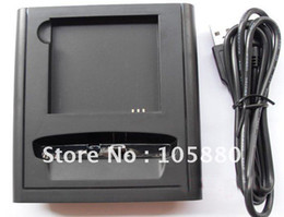 Wholesale Hd2 Battery - free shipping USB CRADLE SYNC DOCK BATTERY CHARGER FOR HTC HD2 HD 2