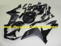 Wholesale yamaha r1 body - HOT!fashion all black body fairing kit for YAMAHA YZF-R1 YZF R1 2007 2008 YZFR1 07-08 fairings RX1o