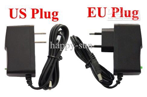 High Quality AC 100-240V to DC 5V 2A Power Adapter Supply 5V adaptor US / EU -EU Plug DHL