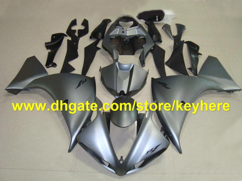 popular in china silver fairing kits for YAMAHA 2009 2010 2011 YZF 1000 YZF R1 YZFR1 09 10 11 RX2a