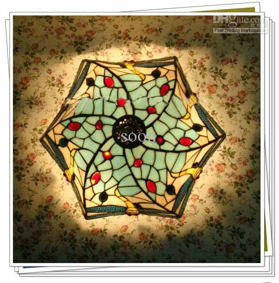 tiffany flush ceiling lights uk. 2017 tiffany style colorful glass ceiling light flush mount with 3 lights dragonfly patterned chandelier from soon, $101.78 | dhgate.com uk
