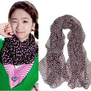 Best 2014 Womens Lengthen Scarf Small Peach Heart Scarf Fashion Cape  Best Scarves For Women 2014